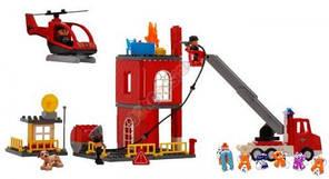 Конструктор JDLT 5156 пожежна станція, 85 деталей, фото 2