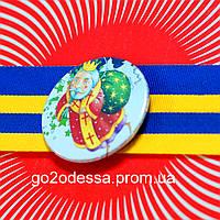 """Значок """"Миколайчик"""" (56 мм), купить значки для детей, атрибутика, значки,  Святий Миколай, фото 1"""