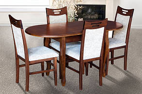 Стол обеденный Фараон венге-шоколад (Микс-Мебель ТМ), фото 2