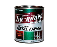 Эмаль алкидная с молотковым эффектом Zip-quard (Зип-Гвард) Зелёная 3,78 л