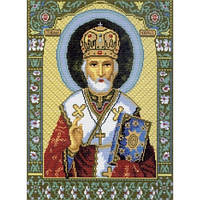 540 Набор для вышивания нитками. Св. Николай Чудотворец. Матрёнин Посад