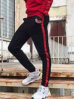 Спортивные штаны в стиле Off White 5400 красные, фото 1