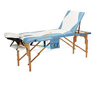 Стол массажный деревянный 3-х сегментный Body Fit