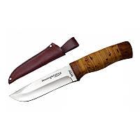 Нож Охотничий Grandway 2253 BLP. Рукоять - береста
