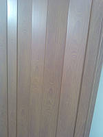 Дверь гармошка межкомнатная пластиковая глухая вишня 806, 810*2030*6мм, фото 2