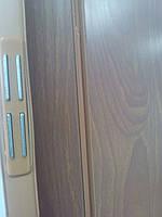 Дверь гармошка межкомнатная пластиковая глухая вишня 806, 810*2030*6мм, фото 4