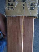 Двері гармошка глуха чорне дерево міжкімнатні пластикова 810*2030*6мм, фото 3