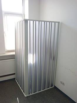Шторка для душа угловая 90х90х185 см прямоугольная