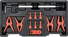 Зажимы для металлических и гибких проводов YATO 12 шт + кейс YT-08392