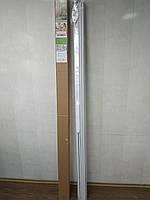 Двері гармошка глуха розсувна білий ясен №1 розмір 1000*2030*6 мм, фото 3