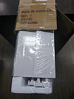 Двері гармошка глуха розсувна білий ясен №1 розмір 1000*2030*6 мм, фото 4