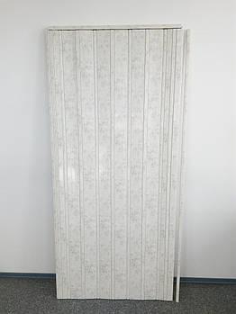 Двері складна 4784 світлий мармур 880*2030*10 мм
