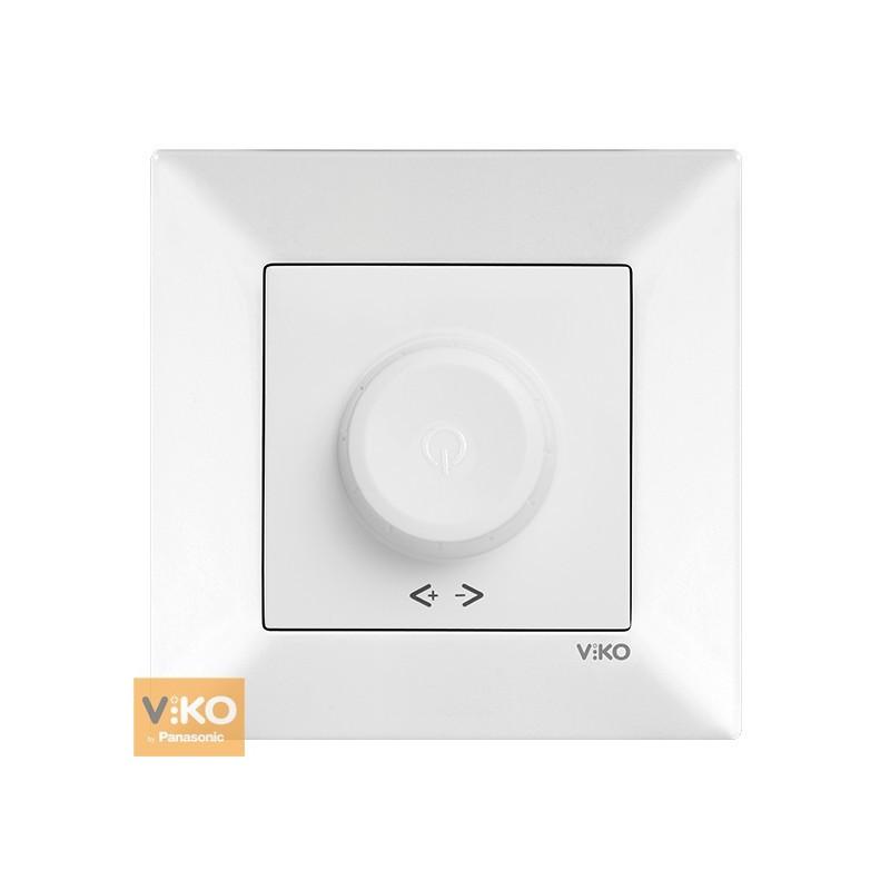 Світлорегулятор RL 1000W/VA VIKO Meridian - Білий