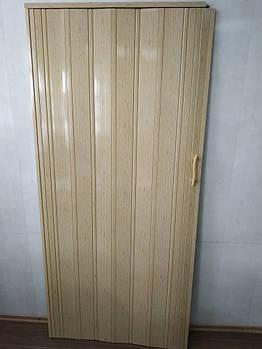 Двері складна гармошка 269 дуб світлий 880*2030*10 мм еліт