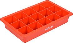 Органайзер пластиковый с магнитом YATO 190 х 120 х 34 мм 15 отделений - 33 х 33 мм YT-08320