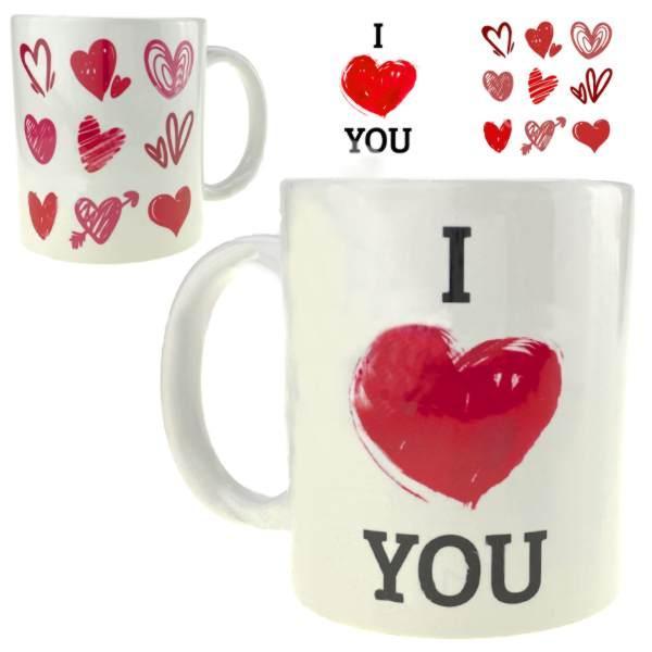 Чашка подарочная I Love You