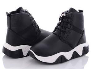 Жіночі стильні черевики. Сезон:Зима 2021р