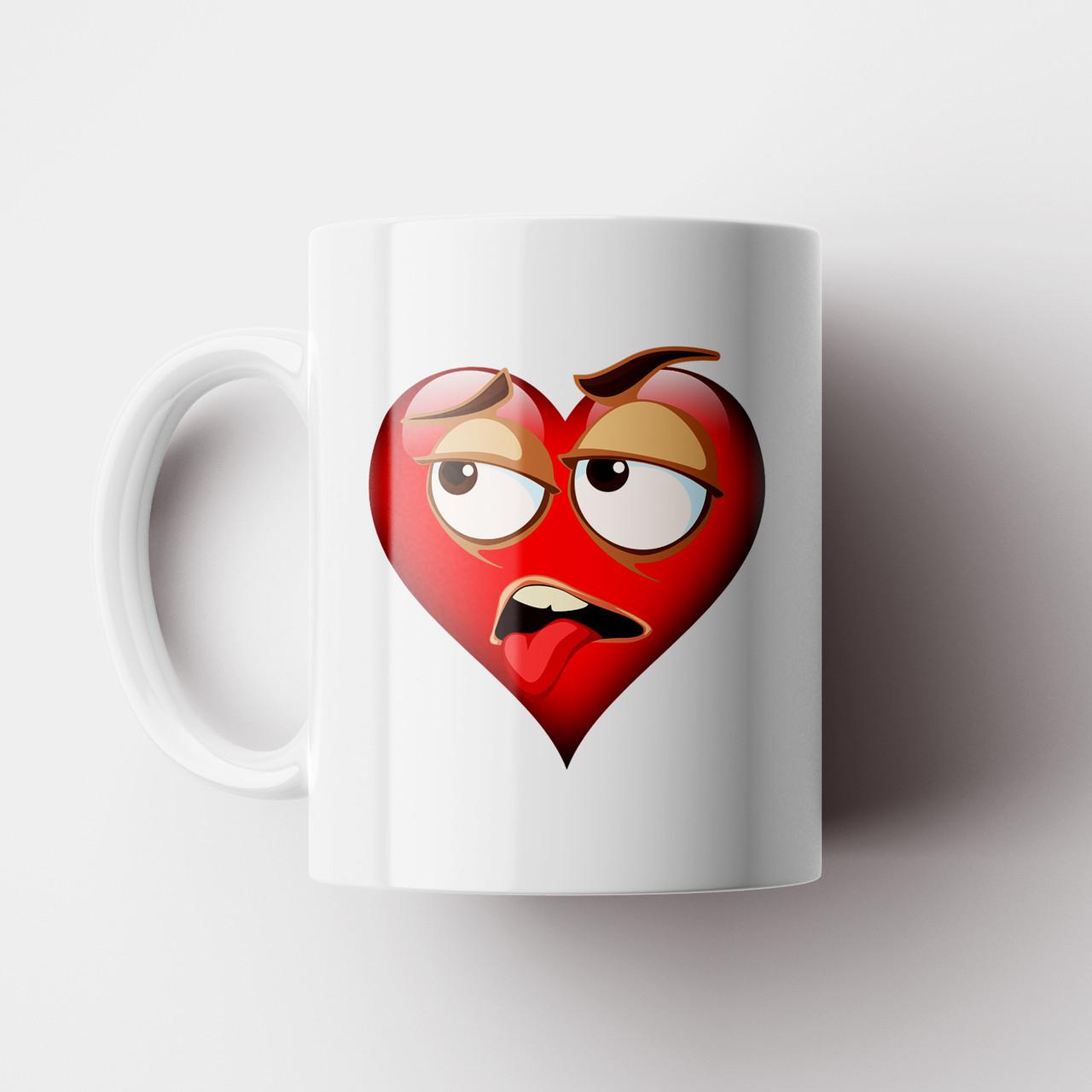 Чашка подарок любимому / любимой. Сердце. Подарок на день Валентина