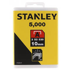 "Скобы для степлера STANLEY ""Light Duty"" ""А"" 10 мм 5000 шт 1-TRA206-5T"