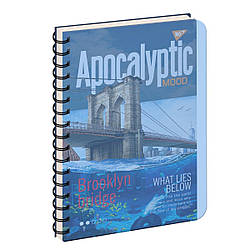 Тетрадь для записей А4/144 пл.обл. APOCALYPTIC YES, 3 шт/уп.