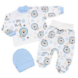 Комплект для новорожденного мальчика на выписку
