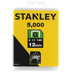 """Скобы для степлера STANLEY """"Heavy Duty"""" """"G"""" 12 мм 5000 шт 1-TRA708-5T"""