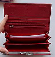 Женский кожаный кошелек Balisa PY-A117 красный Женские кожаные кошельки БАЛИСА оптом Одесса 7 км, фото 4