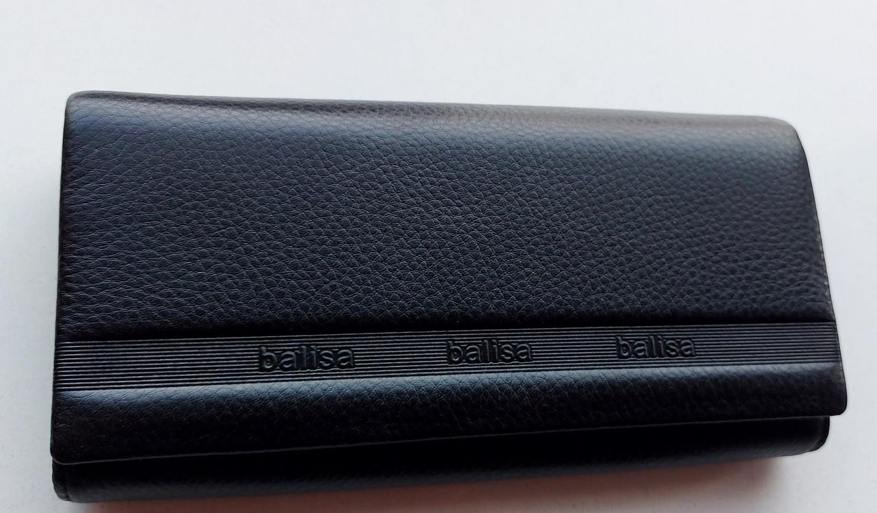Женский кожаный кошелек Balisa PY-A117 черный Женские кожаные кошельки БАЛИСА оптом Одесса 7 км