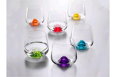 Набор стаканов Bohemia Islands 310 мл 6 шт Цветные яркие 25267 310S D4725