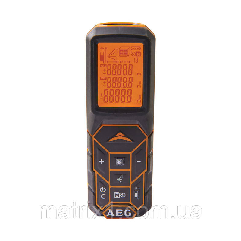 Дальномер лазерный с LCD-дисплеем AEG 50 м (4935447680) Германия