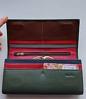 Женский кожаный кошелек Balisa PY-A118 зеленый Женские кожаные кошельки БАЛИСА оптом Одесса 7 км, фото 2