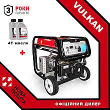 Генератор бензиновий Vulkan SC9000E-II (34175) + масло 4Т 2шт.