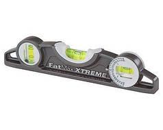 """Уровень магнитный STANLEY """"FatMax Xtreme Torpedo"""" 25 см 0-43-609"""