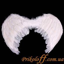 Крила Ангела, білі 50/30 см