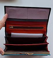 Женский кожаный кошелек Balisa PY-A107 черный Женские кожаные кошельки БАЛИСА оптом Одесса 7 км, фото 3