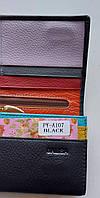 Женский кожаный кошелек Balisa PY-A107 черный Женские кожаные кошельки БАЛИСА оптом Одесса 7 км, фото 5