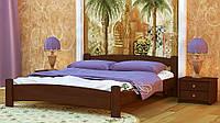 Кровать деревянная двуспальная Милана 180*200(190)