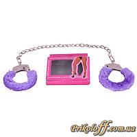 Кандалы для ног, фиолетовые