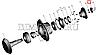 5336-2402037 Гайка М48х2 хвостовика редуктора заднього моста МАЗ нового зразка (вир-во СПЕЦМАШ), фото 3