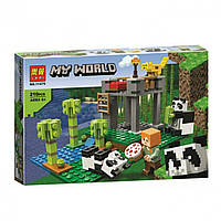 Конструктор Lari Minecraft 11475 Ферма панд