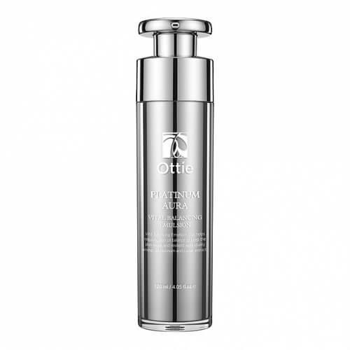 Антивозрастная эмульсия с платиной Ottie Platinum Aura Vital Balancing Emulsion