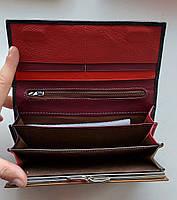 Женский кожаный кошелек Balisa PY-A99 черный Женские кожаные кошельки БАЛИСА оптом Одесса 7 км, фото 3
