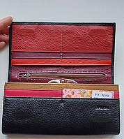 Женский кожаный кошелек Balisa PY-A99 черный Женские кожаные кошельки БАЛИСА оптом Одесса 7 км, фото 2