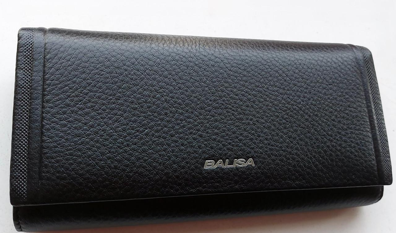 Женский кожаный кошелек Balisa PY-A99 черный Женские кожаные кошельки БАЛИСА оптом Одесса 7 км