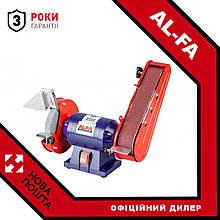 Точило дисково-стрічкове Al-FA ALBG18B : 150 мм Коло | Гарантія 3 роки