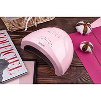 Светодиодная LED лампа для маникюра гель лака SUN One 48W UV/LED Pastel Pink