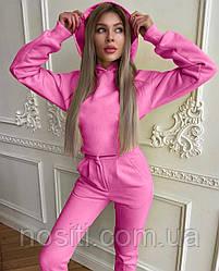 Женский теплый спорт костюм