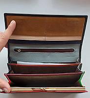 Женский кожаный кошелек Balisa PY-A119 черный Женские кожаные кошельки БАЛИСА оптом Одесса 7 км, фото 3