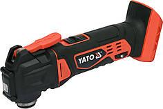 Многофункциональный инструмент аккумуляторный YATO Li-Ion 18 В 18000 об/мин (без аккумулятора и зарядного