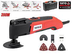 Многофункциональный инструмент YATO 300 Вт 22000 об/мин + насадки + кейс YT-82220